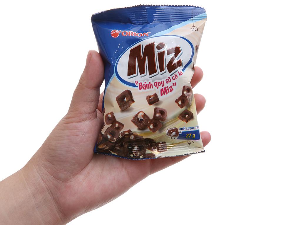 Bánh quy ngọt Miz socola 54g 5