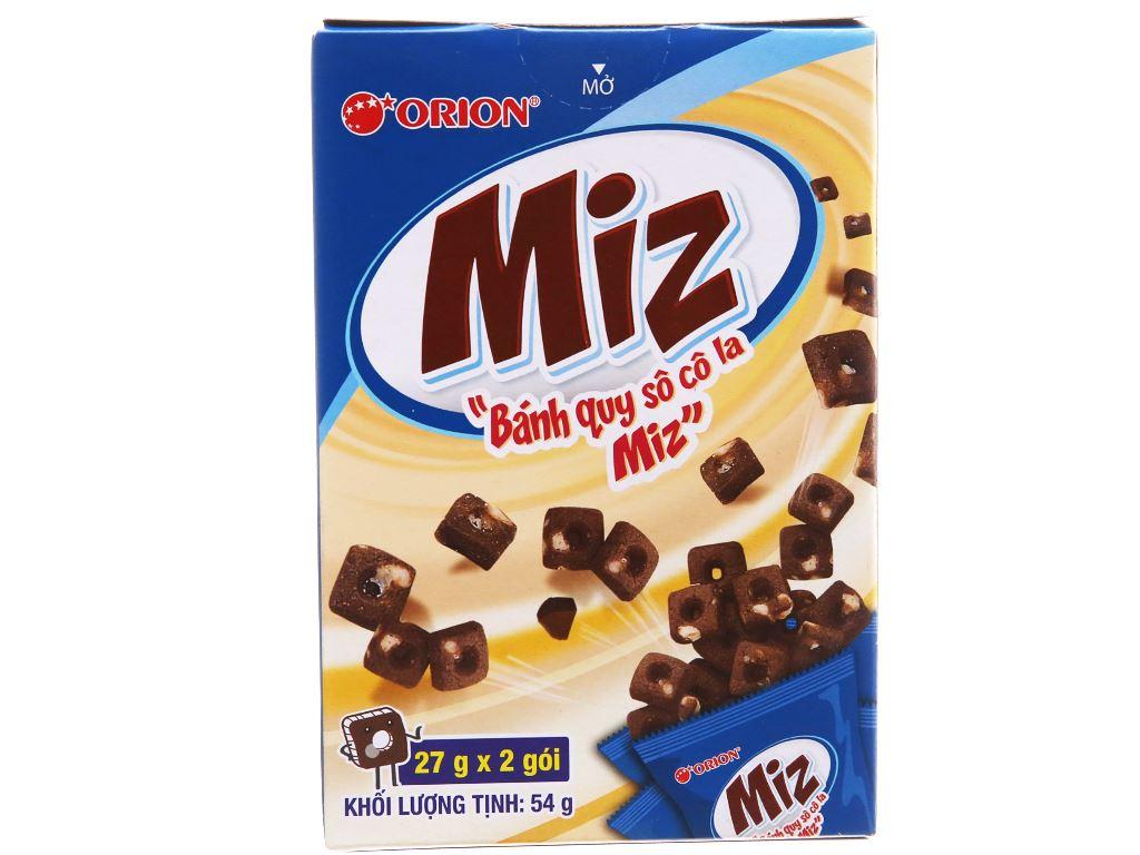 Bánh quy socola Orion Miz hộp 54g 1