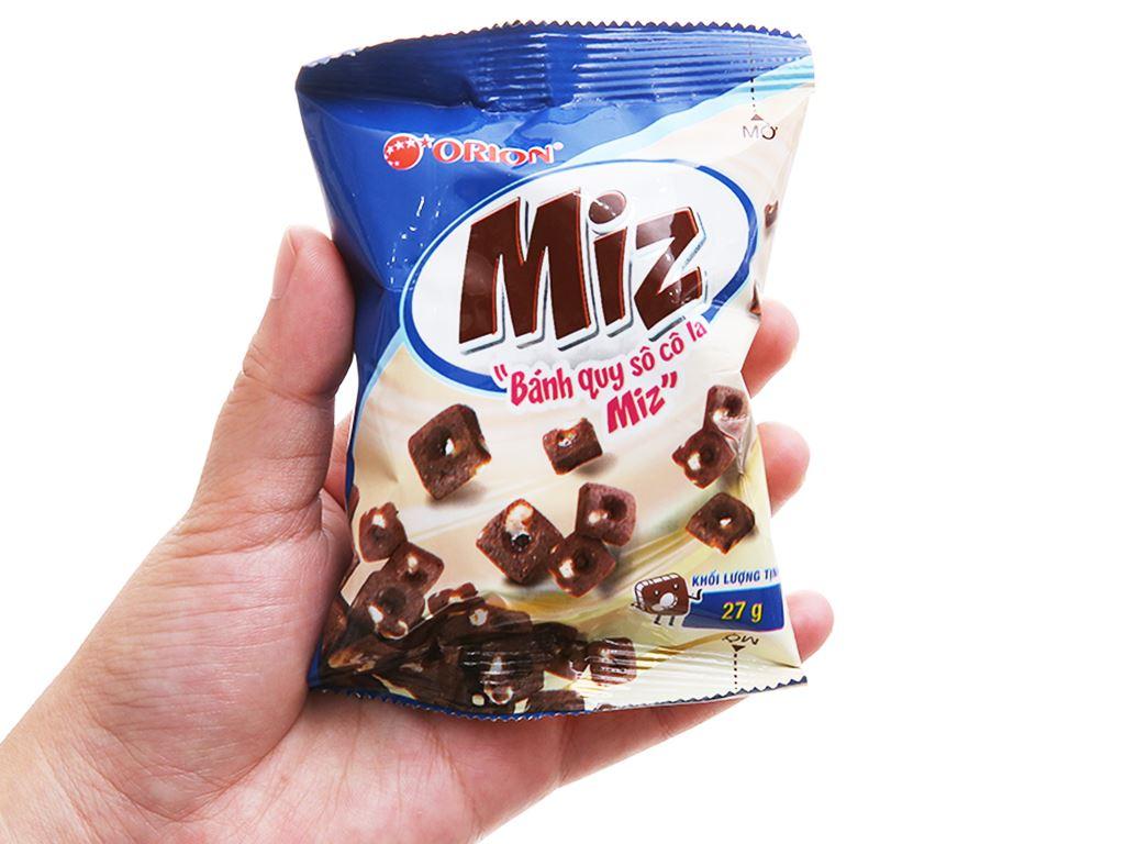 Bánh quy socola Orion Miz hộp 54g 3