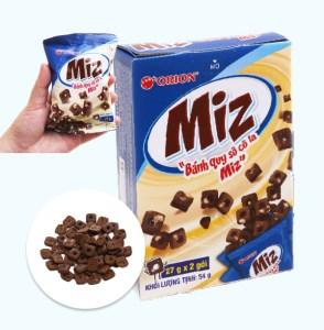 Bánh quy socola Orion Miz hộp 54g