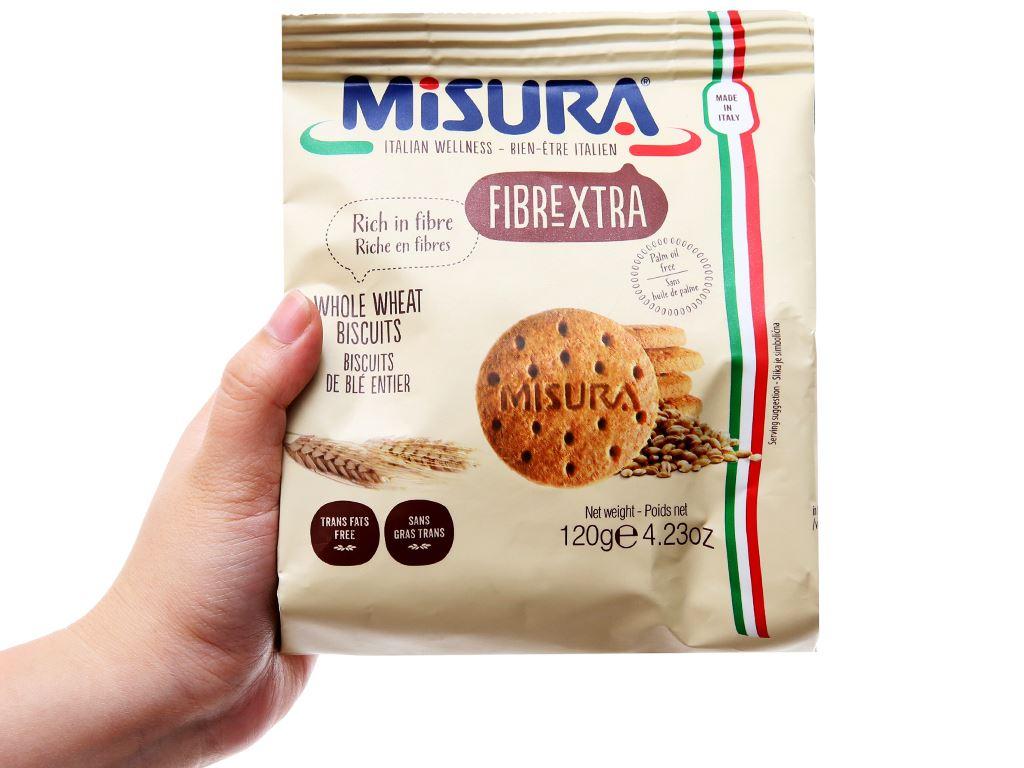 Bánh quy lúa mì Misura gói 120g 3