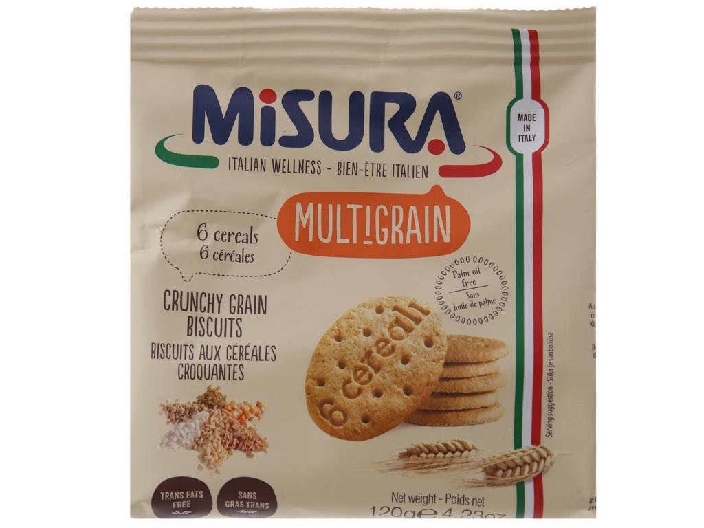 Bánh quy ngũ cốc Misura gói 120g 2