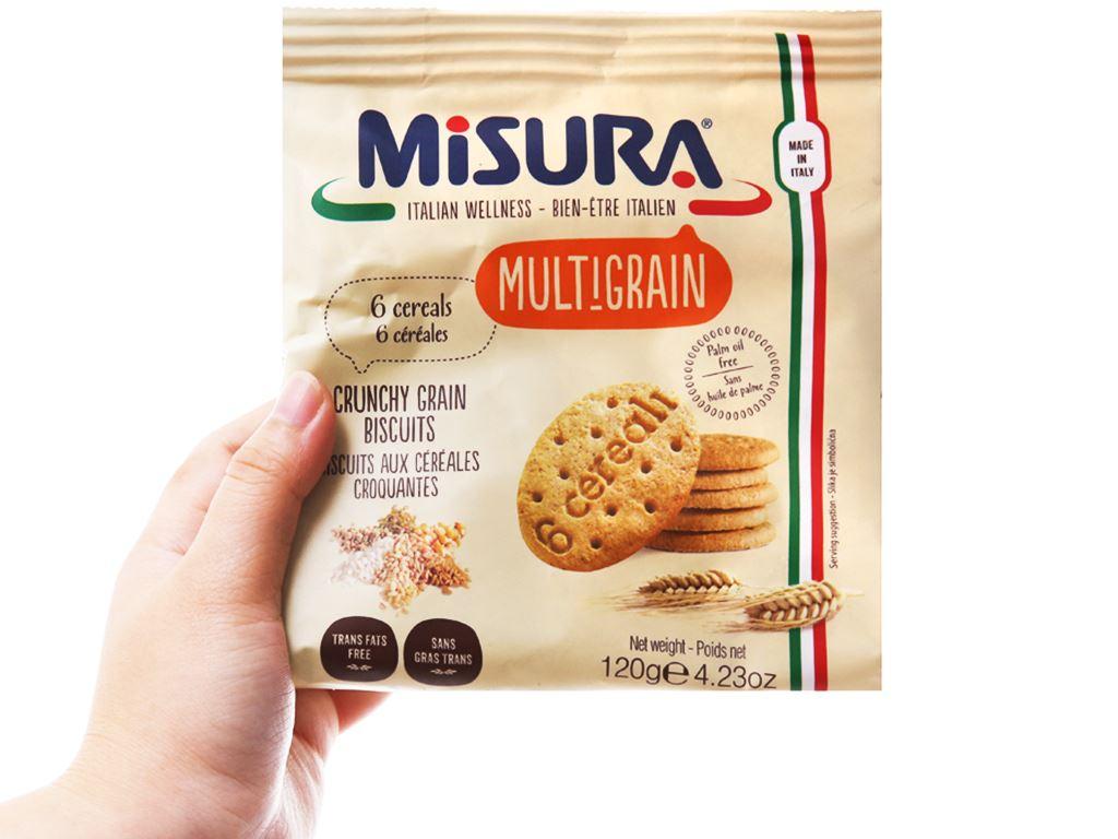 Bánh quy ngũ cốc Misura gói 120g 4