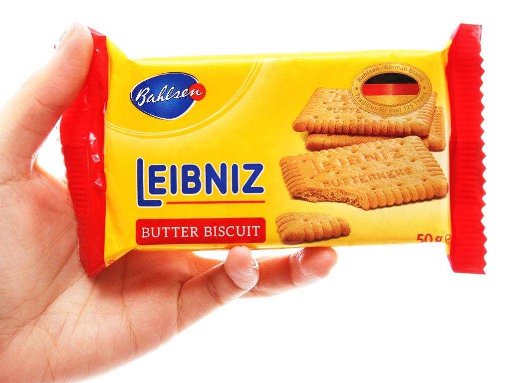 Bánh quy bơ Bahlsen Leibniz gói 50g 3