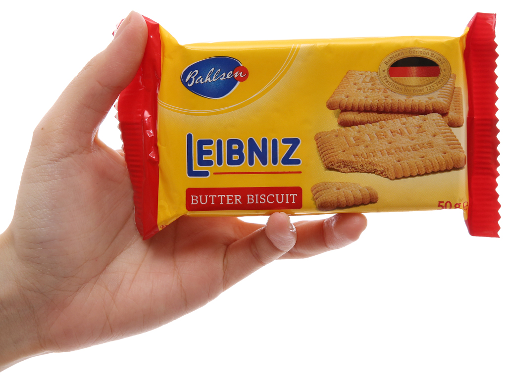 Bánh quy Bahlsen Leibniz 50g 5