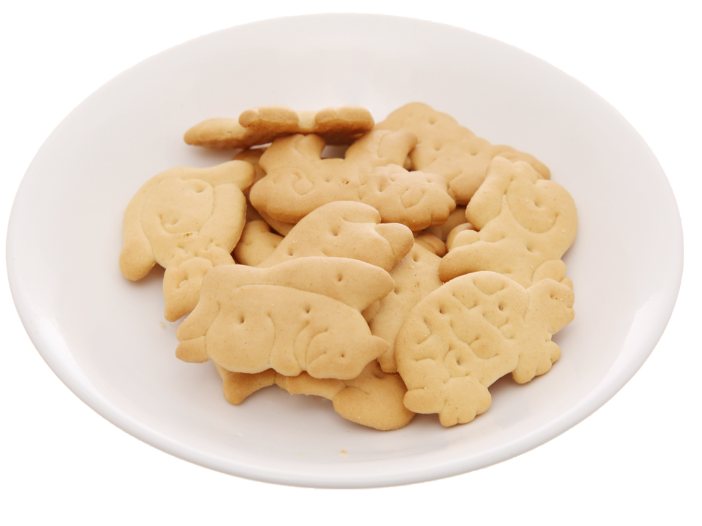 Bánh quy hình thú vị bơ Bahlsen Zoo gói 30g 4