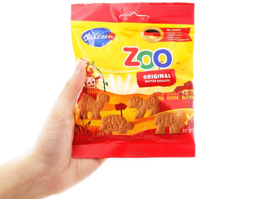 Bánh quy bơ hình thú Bahlsen Zoo gói 30g 3