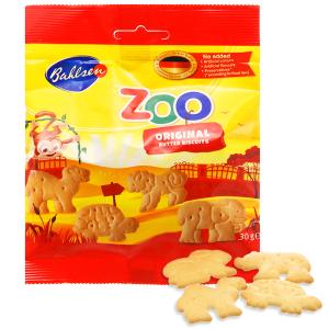 Bánh quy hình thú vị bơ Bahlsen Zoo gói 30g