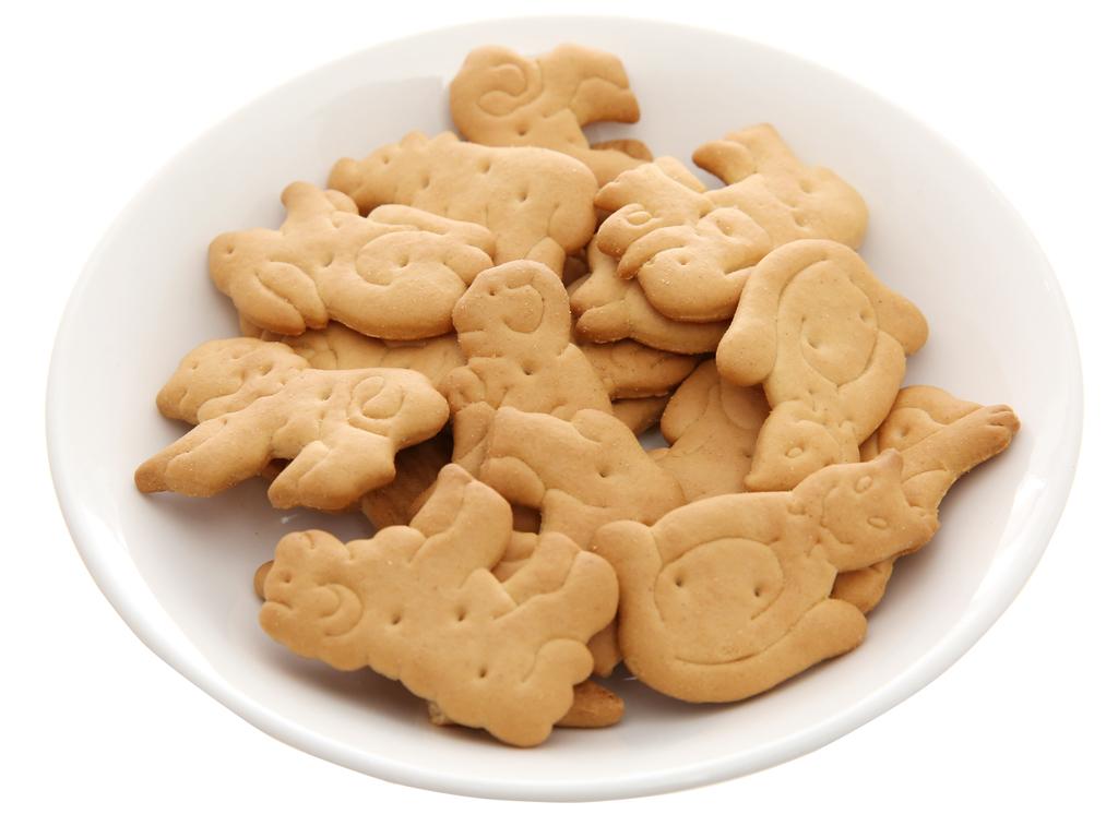 Bánh quy bơ hình thú Bahlsen Zoo gói 100g 4