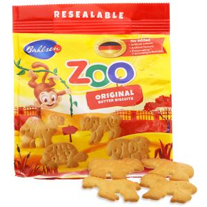 Bánh quy bơ hình thú Bahlsen Zoo gói 100g