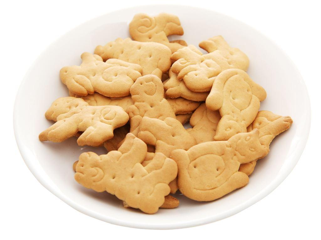Bánh quy bơ hình thú Bahlsen Zoo gói 100g 9