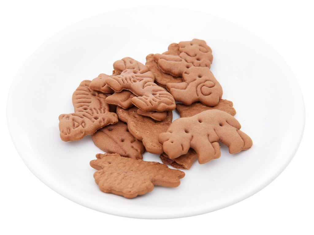 Bánh quy cacao hình thú Bahlsen Zoo gói 100g 9