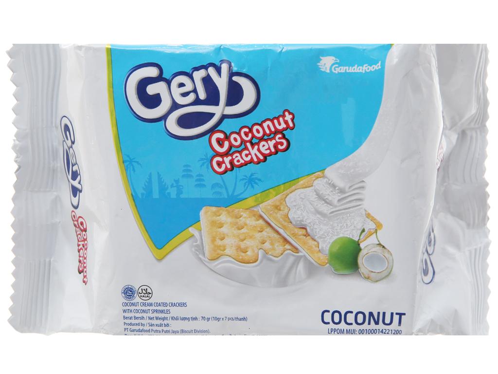 Bánh quy GarudaFood Gery dừa 70g 2