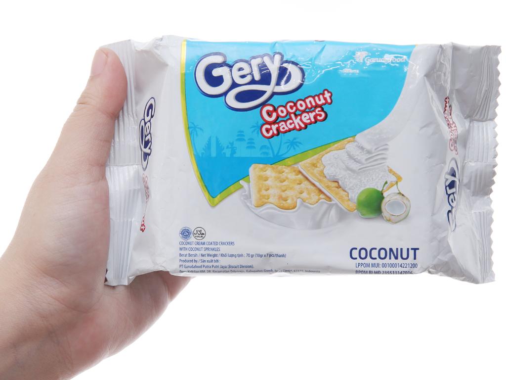 Bánh quy GarudaFood Gery dừa 70g 5