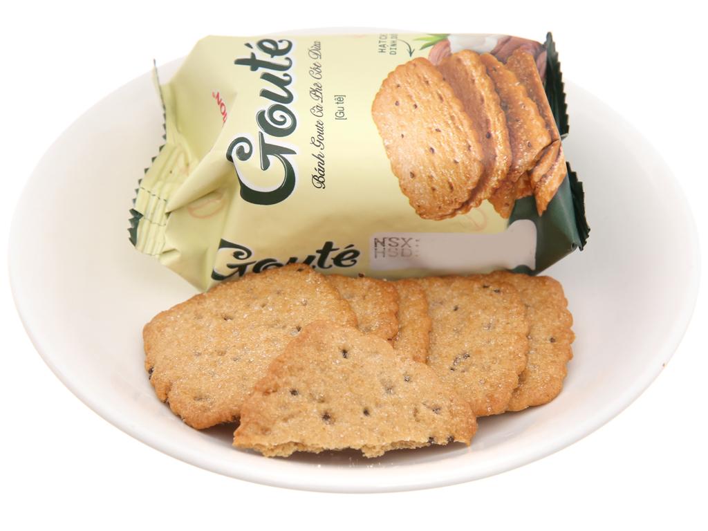 Bánh quy cà phê cốt dừa Gouté hộp 284g 3