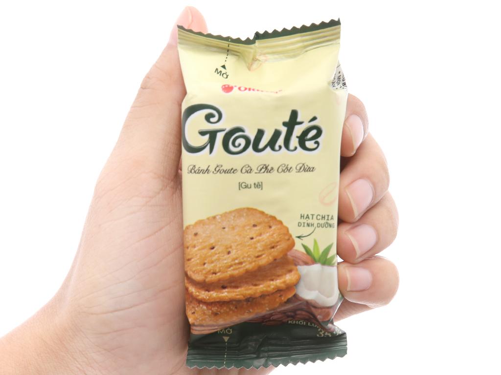 Bánh quy cà phê cốt dừa Gouté hộp 284g 4