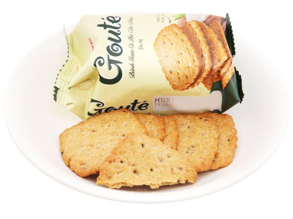 Bánh quy Gouté cà phê cốt dừa hộp 284g 5