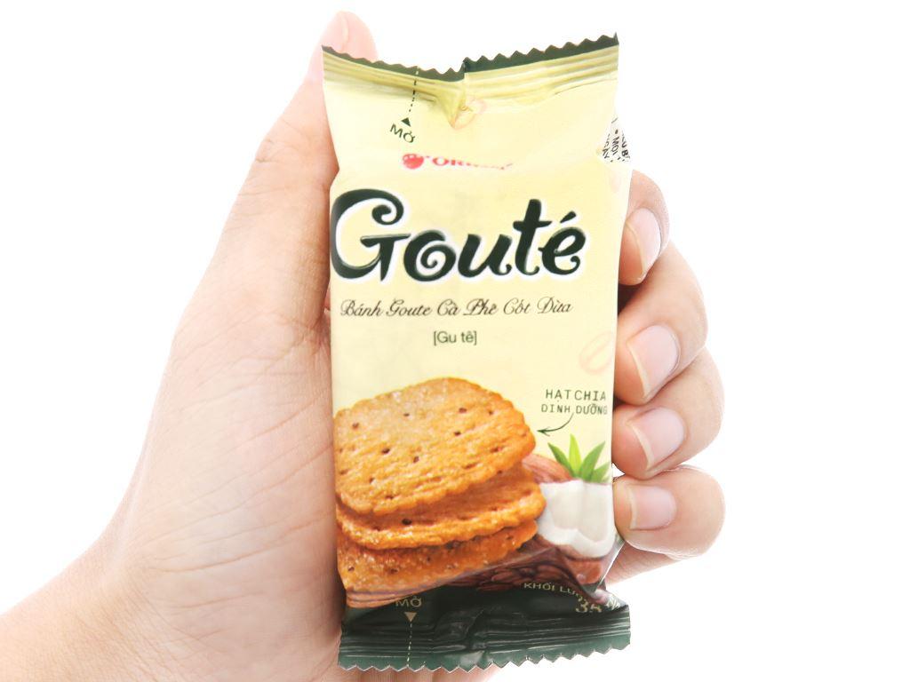 Bánh quy Gouté cà phê cốt dừa hộp 284g 4