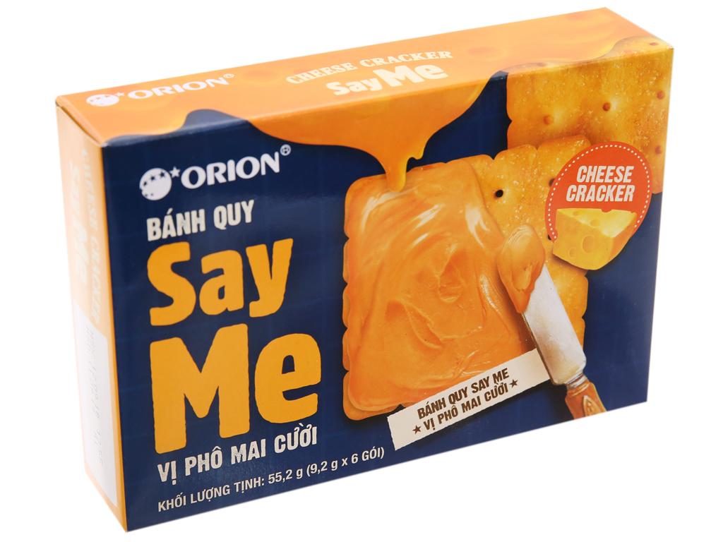 Bánh quy phô mai cười Orion Say Me hộp 55.2g 1
