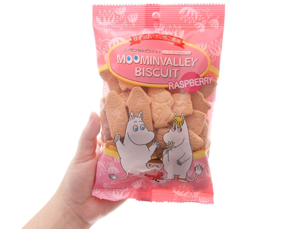 Bánh quy Hokka Moominvalley 75g 5