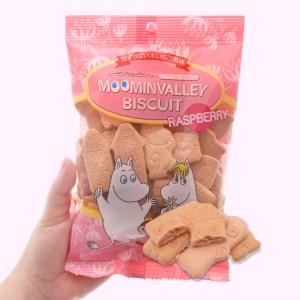 Bánh quy phúc bồn tử Hokka Moominvalley gói 75g
