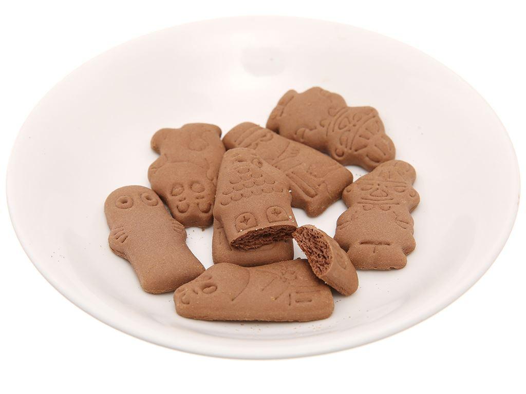 Bánh quy cacao Hokka Moominvalley Biscuit gói 20g 4