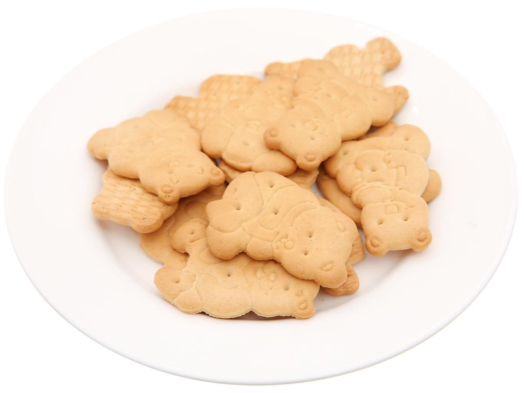Bánh quy hình thú sữa và mật ong Bahlsen Zoo gói 100g 4