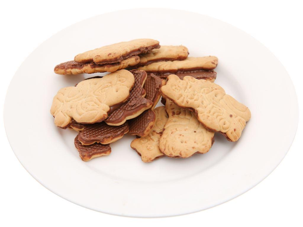 Bánh quy socola Bahlsen Zoo gói 80g 4