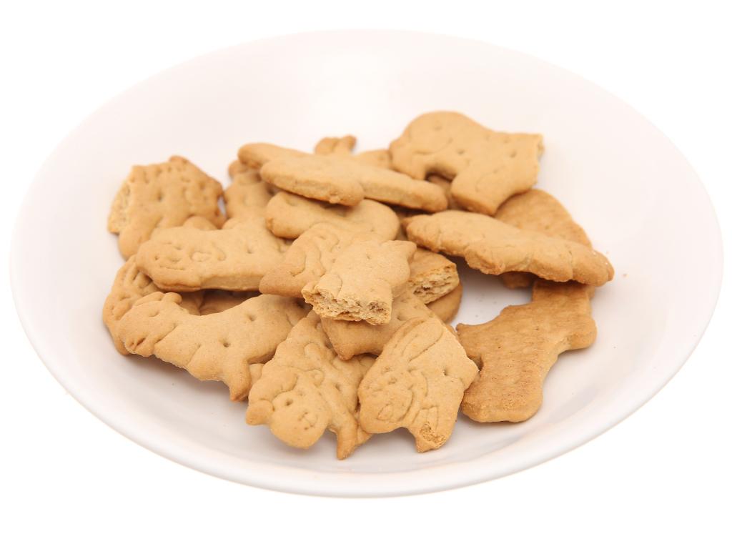 Bánh quy hình thú lúa mì và yến mạch Bahlsen Zoo gói 100g 4