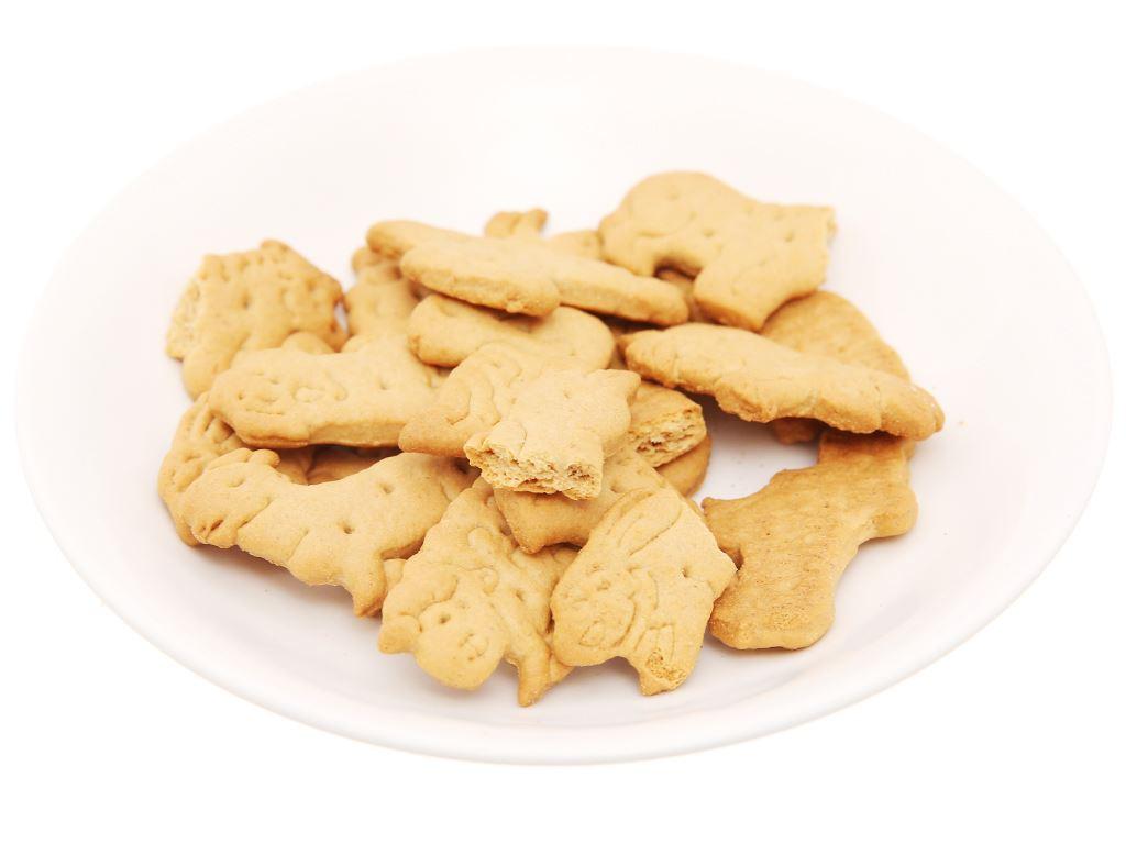 Bánh quy lúa mì và yến mạch hình thú Bahlsen Zoo gói 100g 4