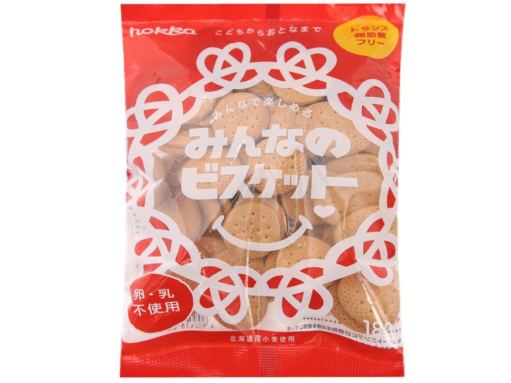 Bánh quy Everybody Hokka gói 180g 2