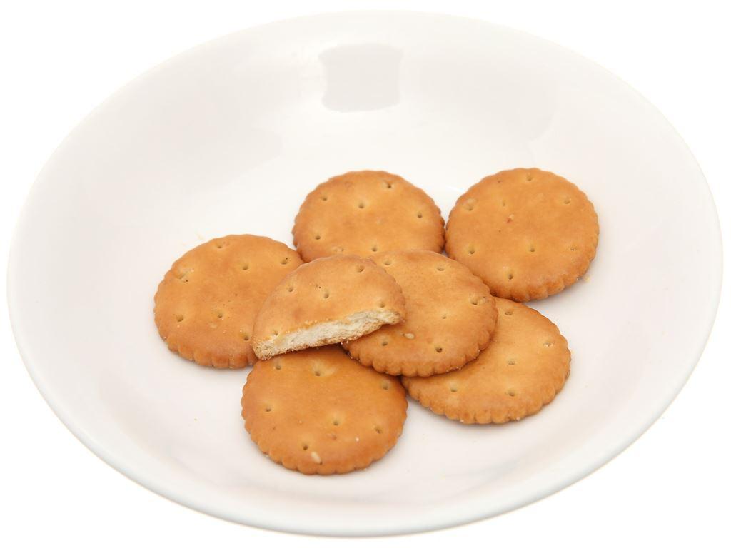 Bánh quy mặn mè mật ong Hokka gói 110g 4