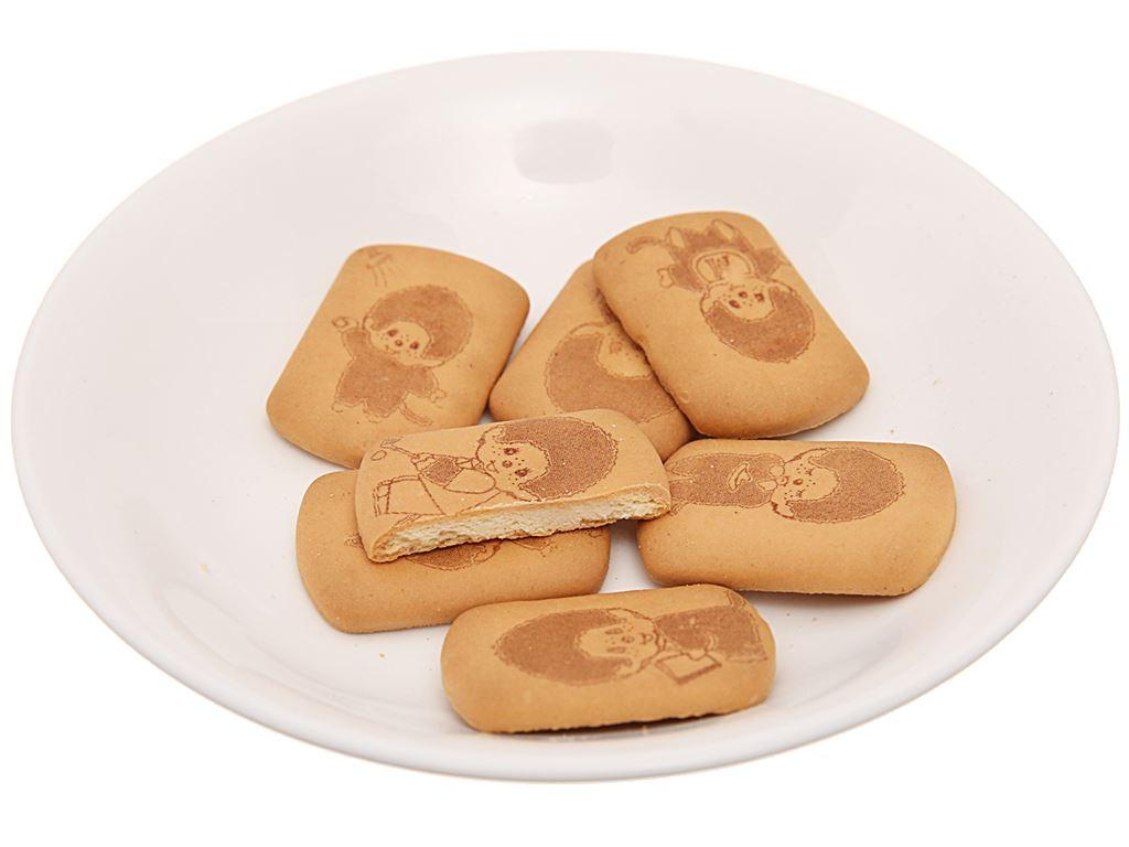 Bánh quy hương vani Hokka Monchhichi gói 75g 4
