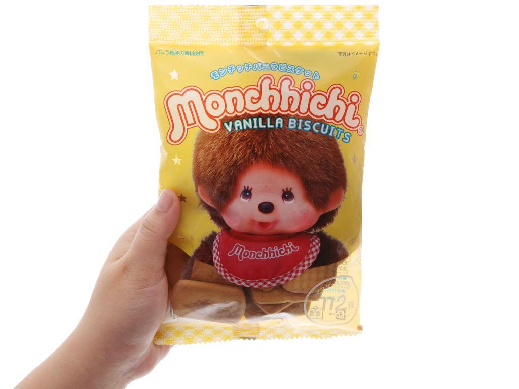 Bánh quy hương vani Hokka Monchhichi gói 75g 5
