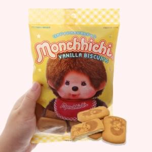 Bánh quy hương vani Hokka Monchhichi gói 75g