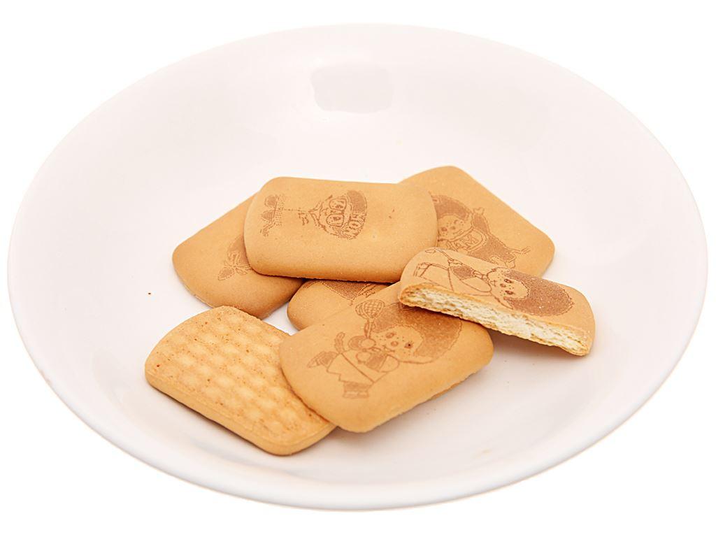 Bánh quy hương vani Hokka Monchhichi gói 168g 4