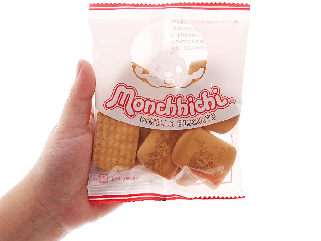Bánh quy hương vani Hokka Monchhichi gói 168g 5