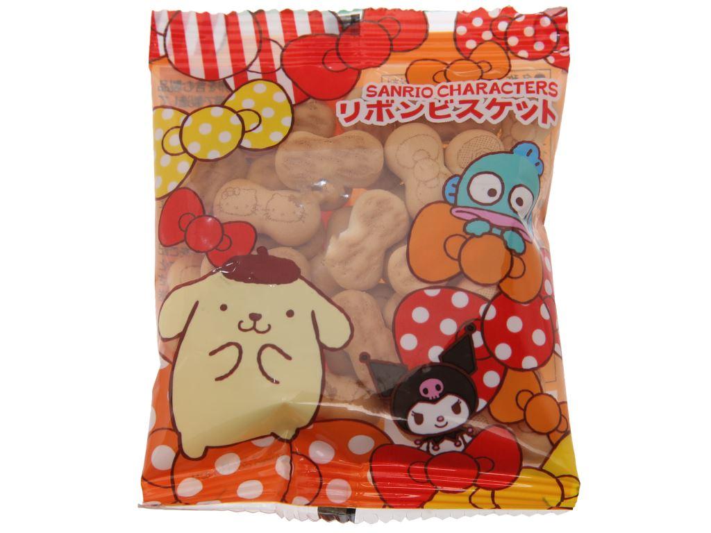 Bánh quy hình nơ Sanrio gói 20g (giao màu ngẫu nhiên) 2