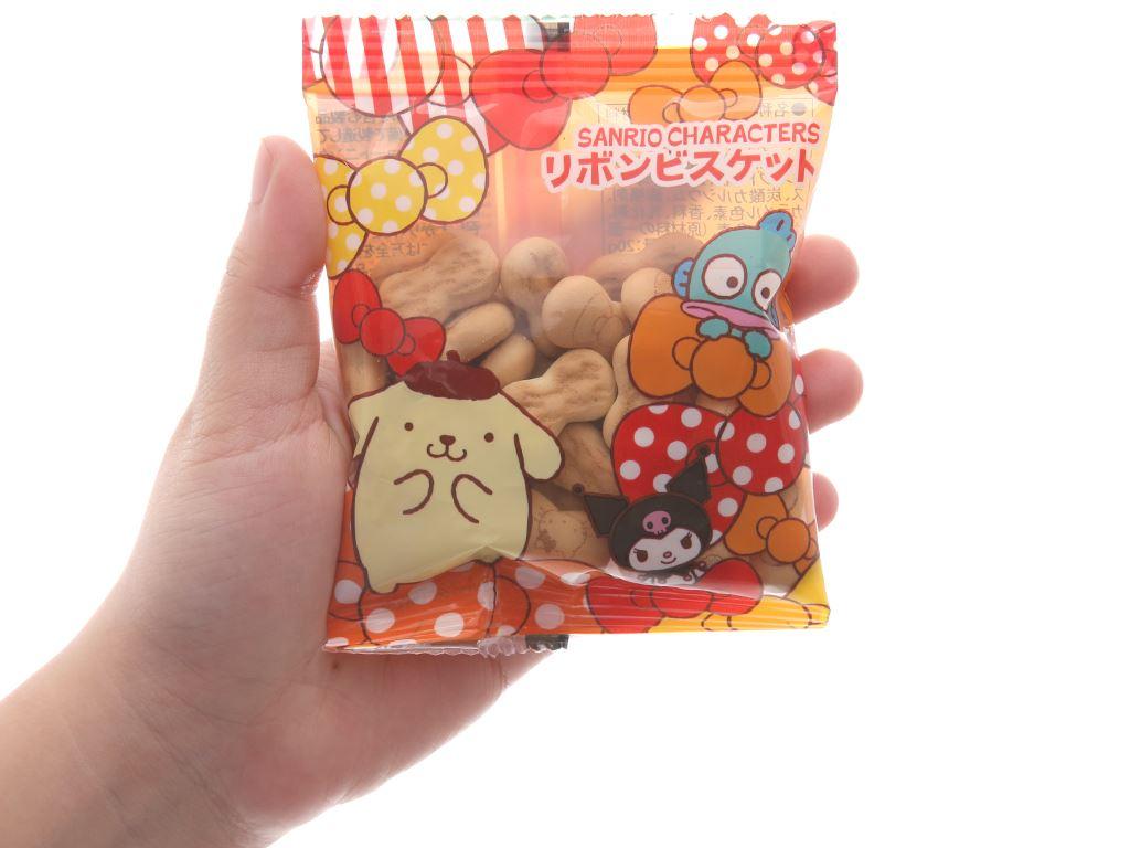 Bánh quy hình nơ Sanrio gói 20g (giao màu ngẫu nhiên) 5