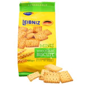Bánh quy ngũ cốc nguyên hạt Bahlsen Leibniz Minis gói 100g