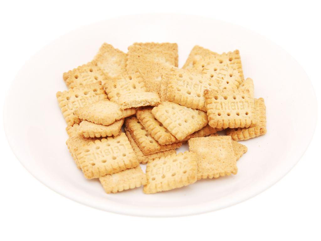 Bánh quy ngũ cốc nguyên hạt Minis Leibniz Bahlsen gói 100g 4
