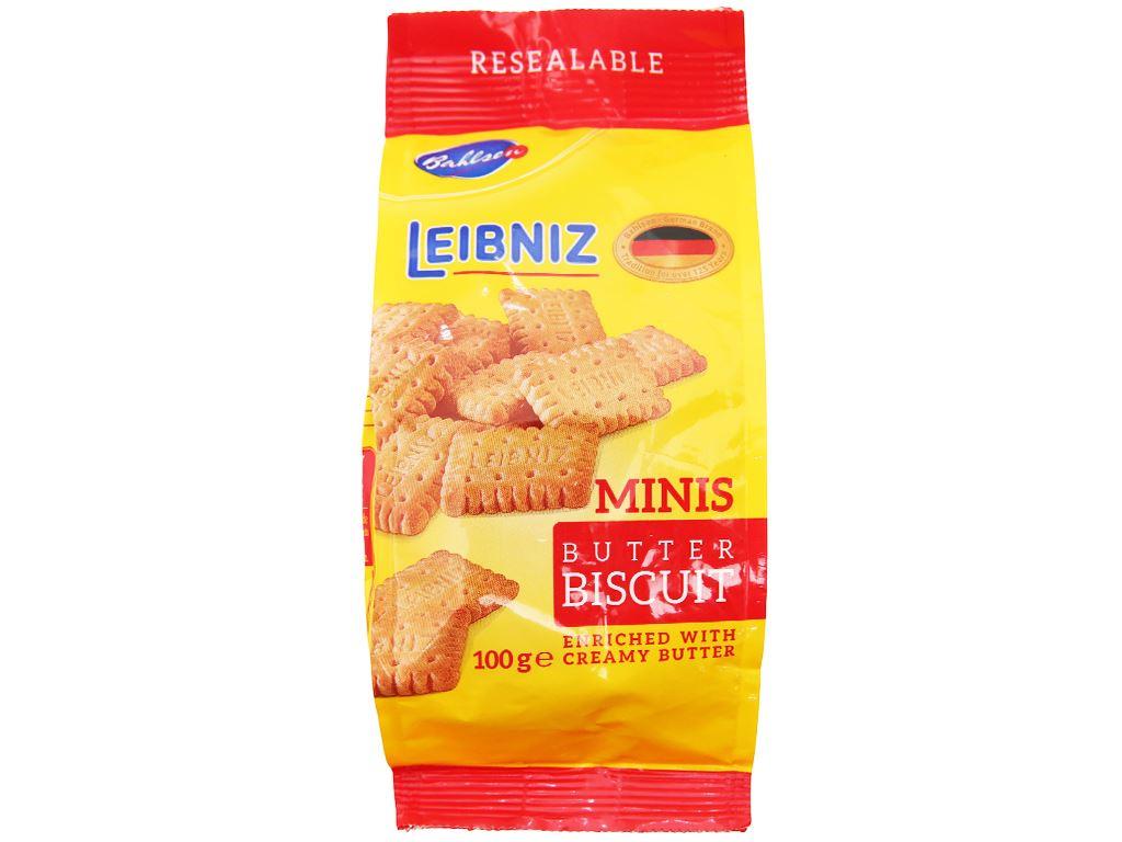 Bánh quy bơ Minis Bahlsen gói 100g 2