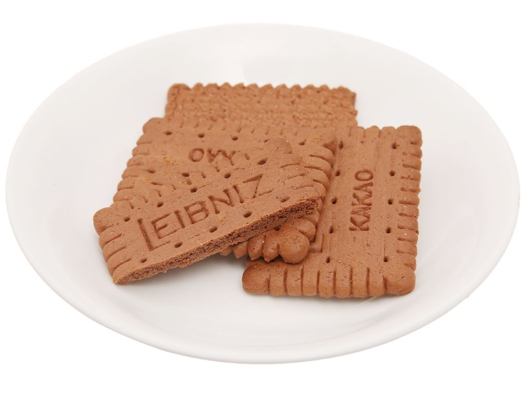 Bánh quy cacao Bahlsen Leibniz gói 200g 5