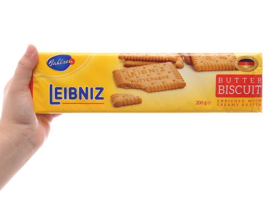 Bánh quy bơ Bahlsen Leibniz gói 200g 5