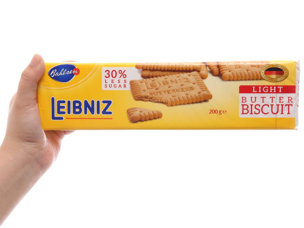 Bánh quy bơ ít đường Bahlsen Leibniz hộp 200g 5