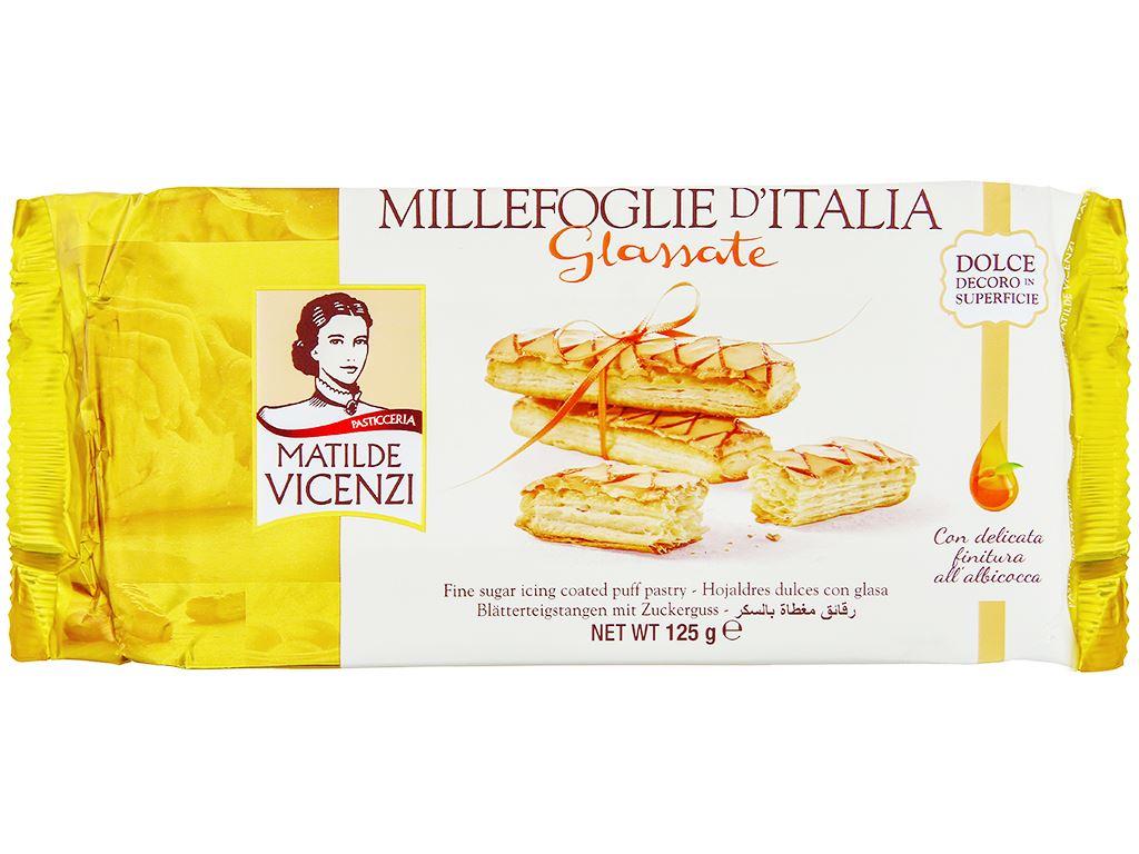 Bánh Puff Pastry phủ đường Glassate Matilde Vicenzi gói 125g 1