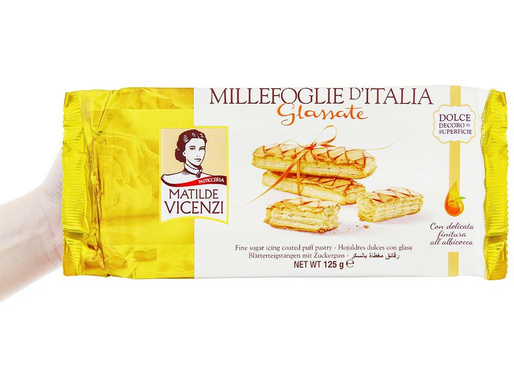 Bánh Puff Pastry phủ đường Glassate Matilde Vicenzi gói 125g 3
