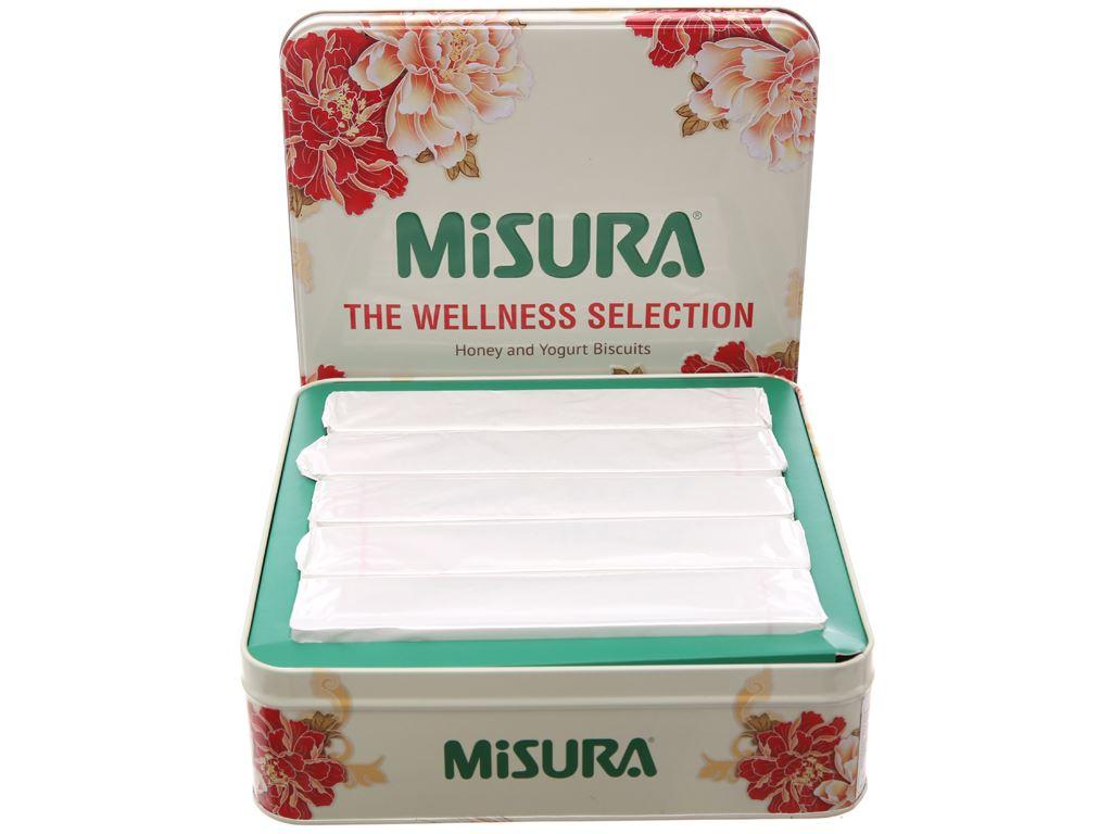 Bánh quy sữa chua và mật ong Misura hộp 500g 3