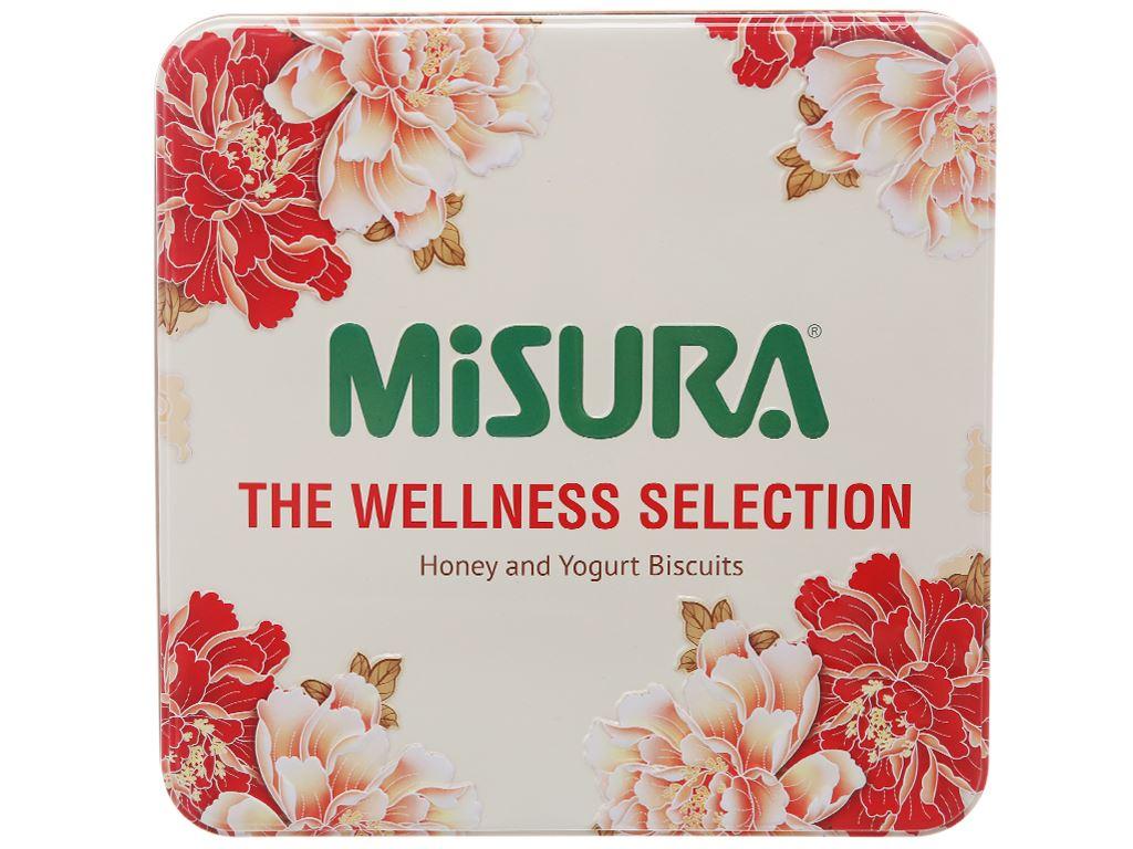 Bánh quy sữa chua và mật ong Misura hộp 500g 1