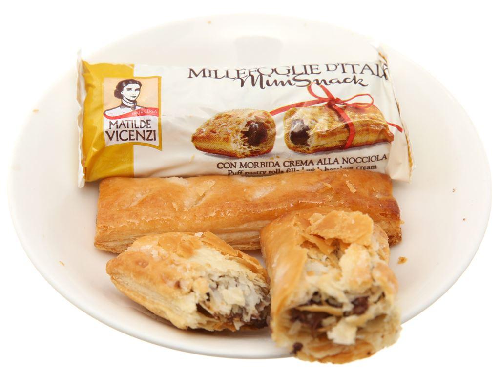 Bánh quy Cuộn kem hạt dẻ Matilde Vicenzi Millefoglie D'italia MiniSnack 250g 4
